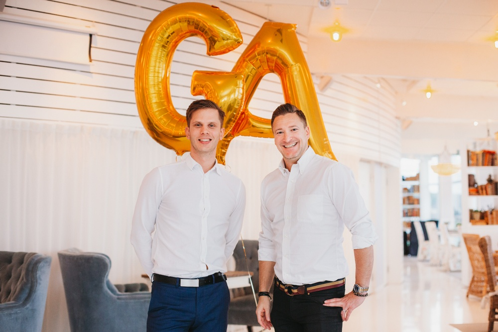 GetAccept Co-founders Samir Smajic and Mathias Thulin