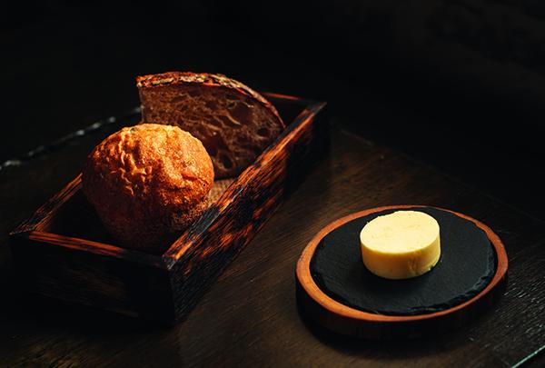 Welsh honey bread, sourdough, homemade cultured butter