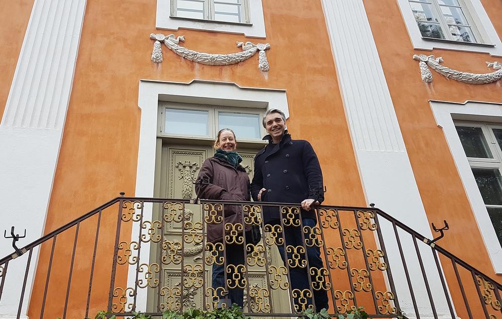 Kulturens museichef Gustav Olsson och forskningsansvarig Lizette Gradén. Foto: Maria Bohlin, Kulturen