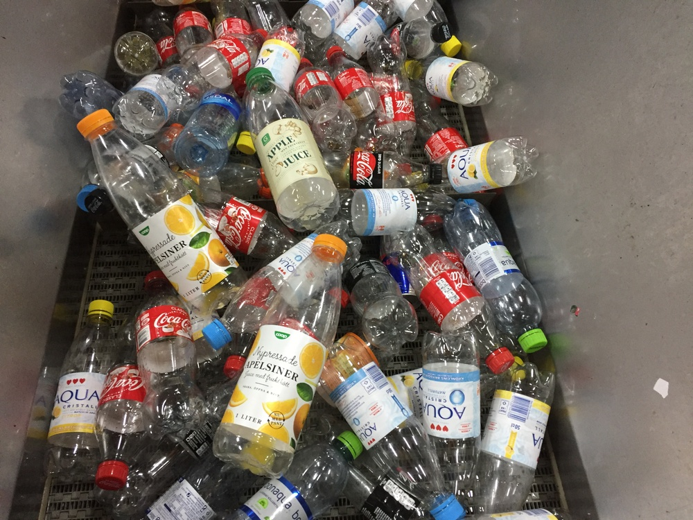 Pantflaskor Juice Foto: Returpack - Pantamera
