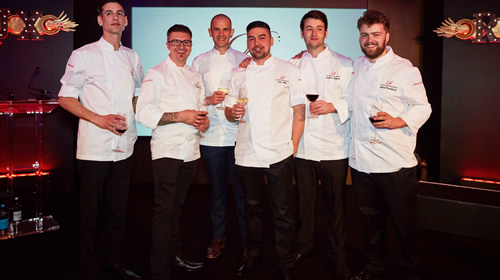 The Roux Scholarship 2017 finalists