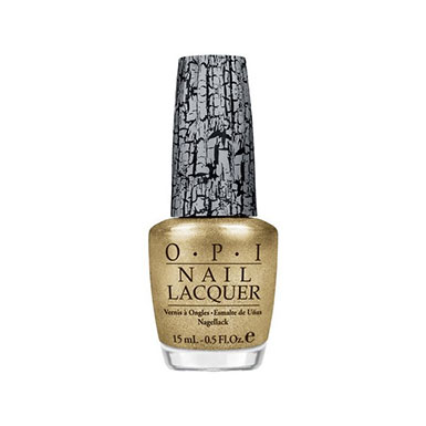Vernis a ongles Gold Shatter