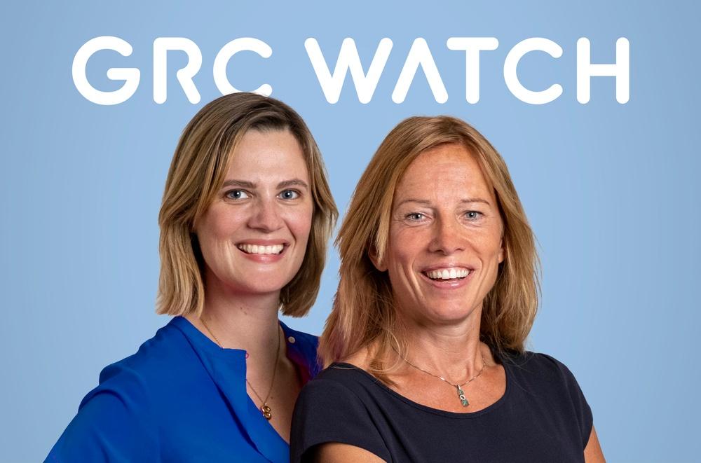 GRC Watchs grundare Susanna von Langsdorff t v och Linda Hellström.