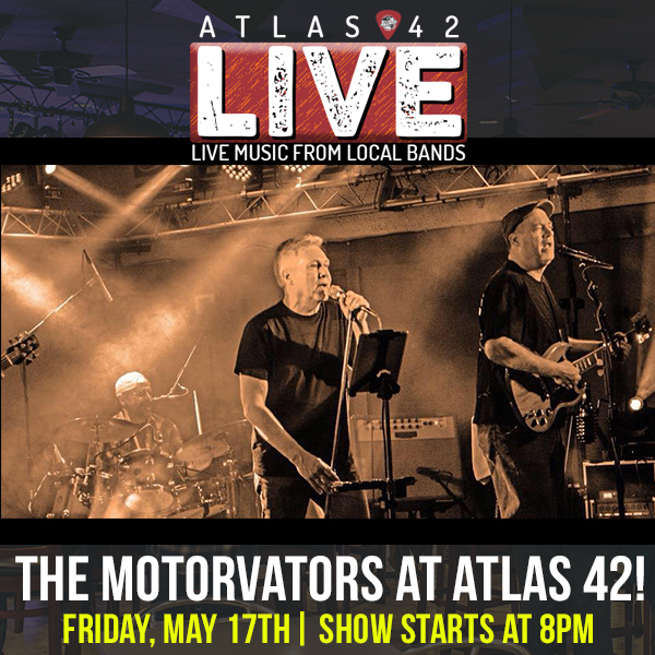 Atlas 42 - The Motorvators - May 17, 2019