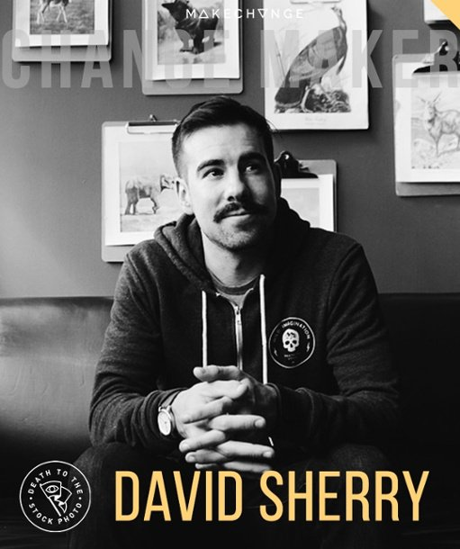 David Sherry, founder of Death to the Stock Photo, shares how he started his business and a few free photos for you to use on your website.