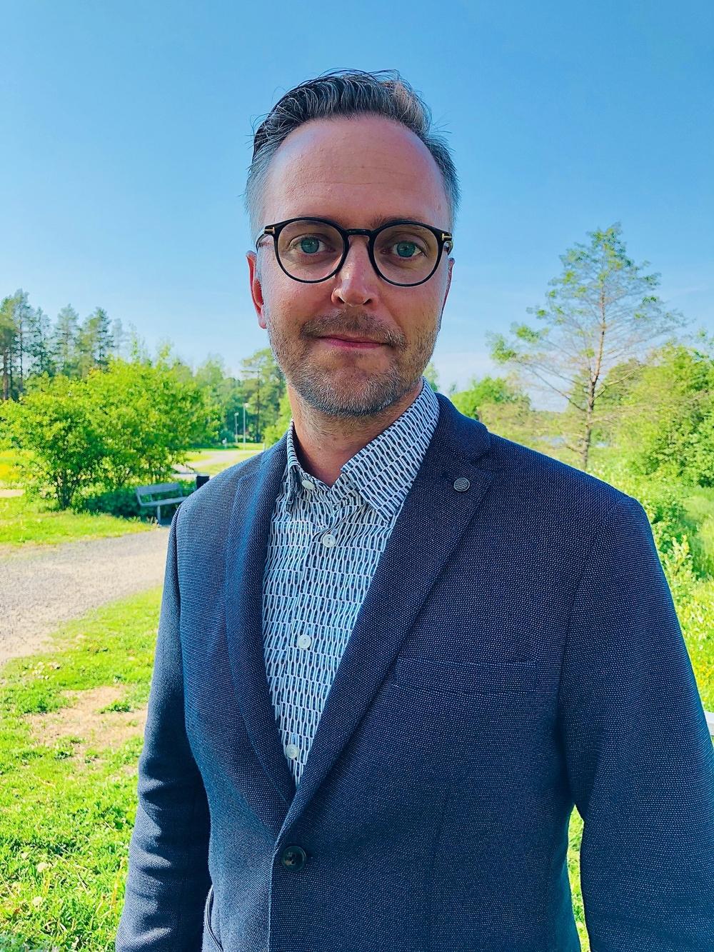 Fredic Genberg, vd Almi Nord