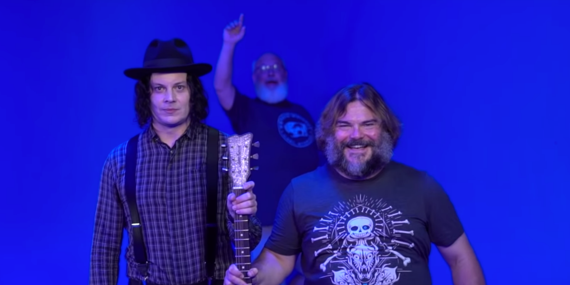 Tenacious D and Jack White are working on music together – watch