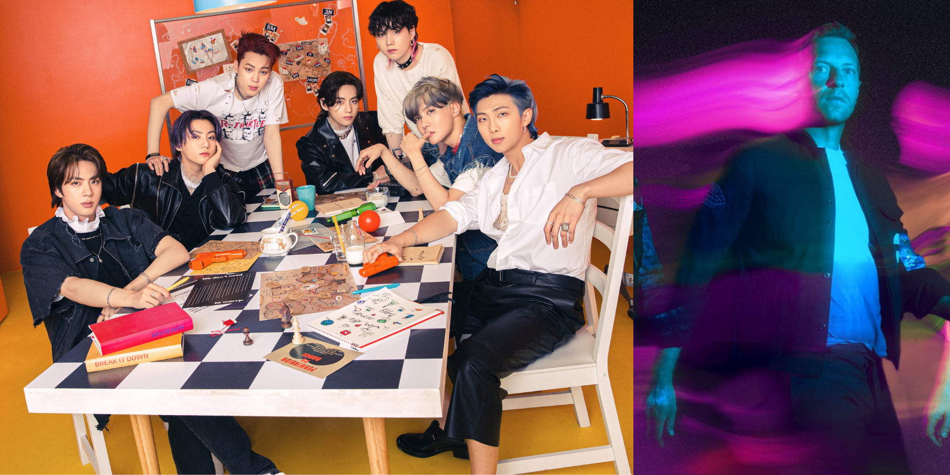 BTS and Coldplay's Chris Martin to appear on YouTube's 'RELEASED'