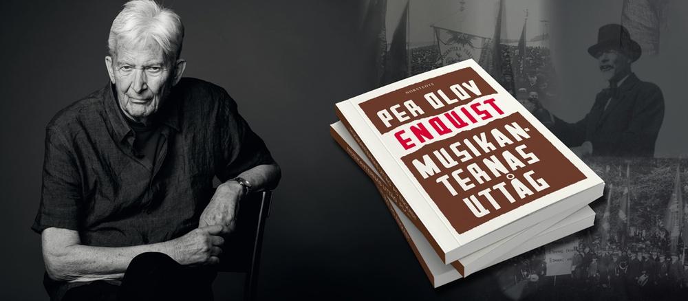 PO Enquist, författare till Musikanternas uttåg som har urpremiär på Västerbottensteatern hösten 2021. Författarporträtt: Magnus Liam Karlsson/Norstedts