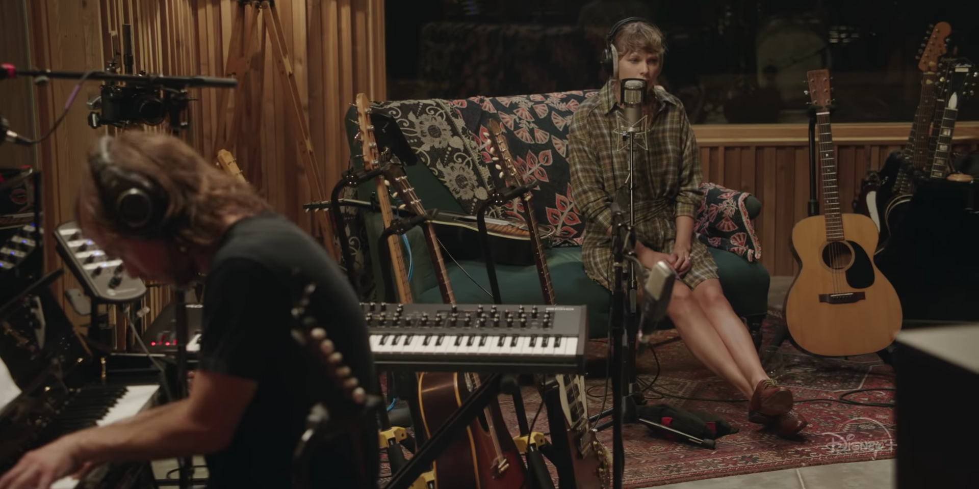 Taylor Swift announces Disney+ exclusive concert film, 'folklore: the long pond studio sessions'