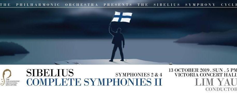 The Philharmonic Orchestra Presents Sibelius Symphonies 2 & 4