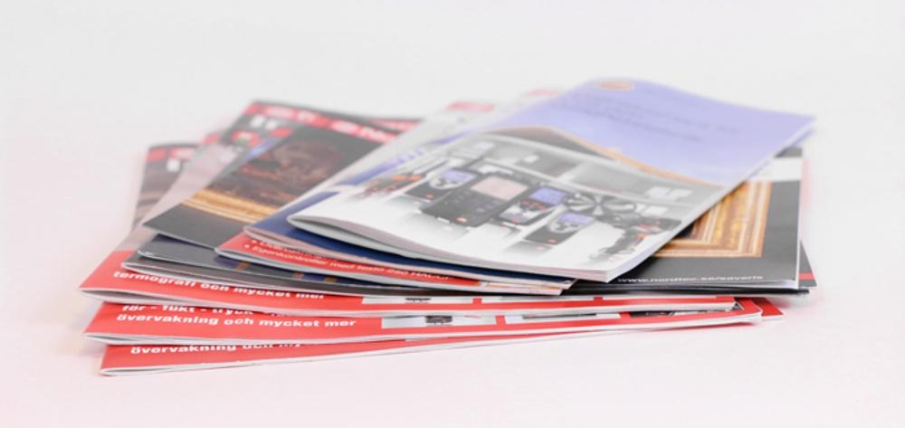 Tidningar och broschyrer