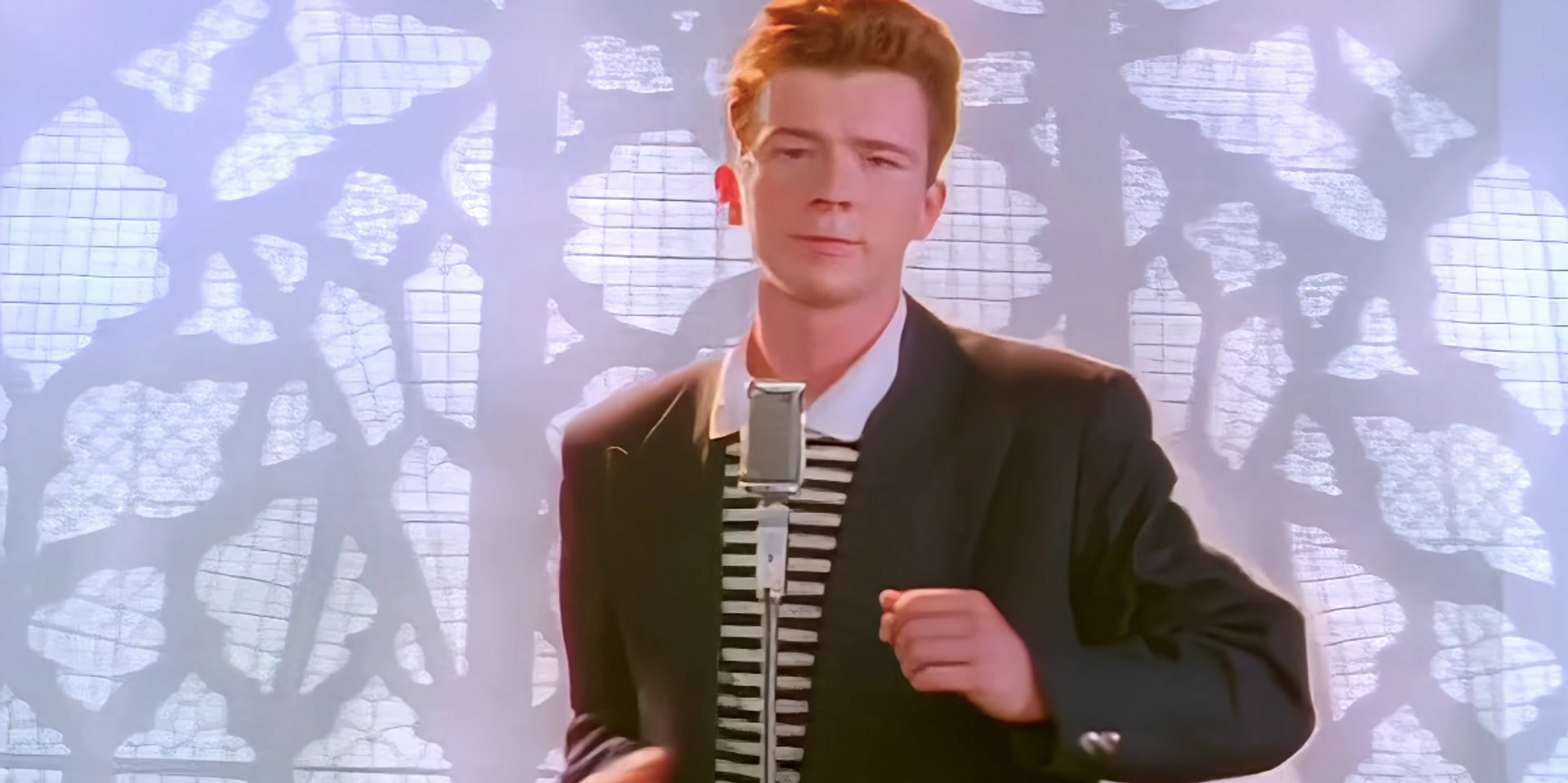Rickroll in 4K with a remastered music video for Rick Astley's 'Never Gonna Give You Up'