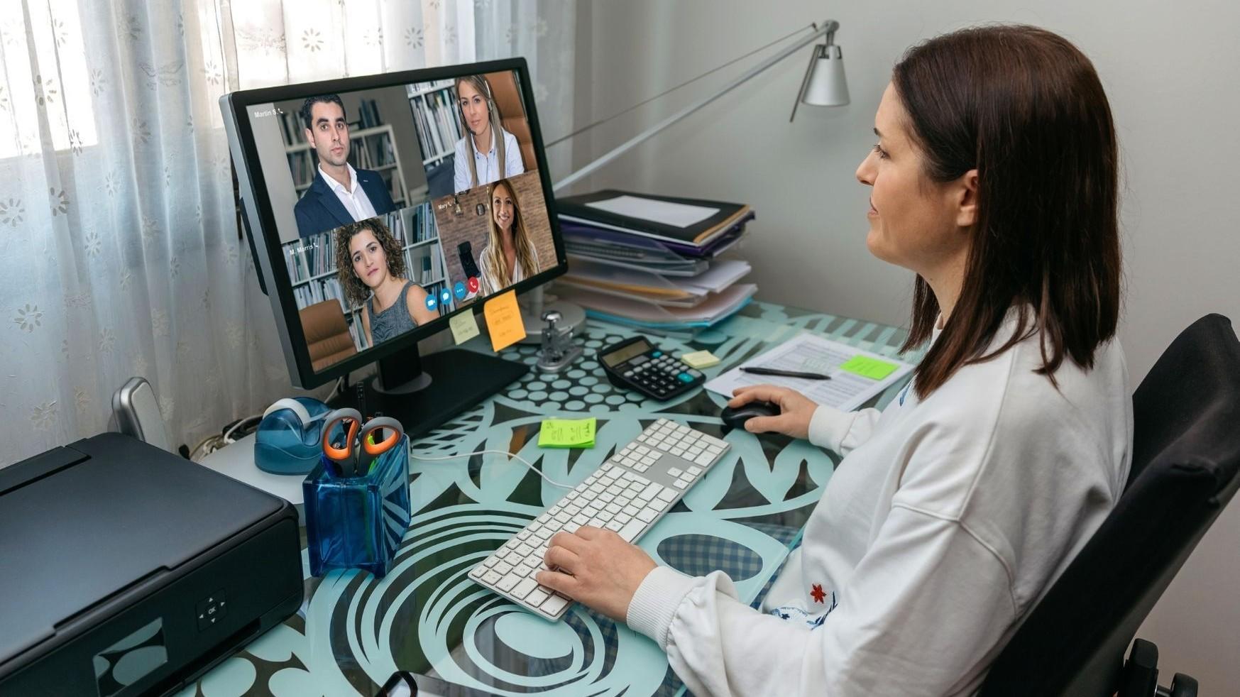 Représentation de la formation : Piloter ses réunions de travail virtuelles en mode collaboratif