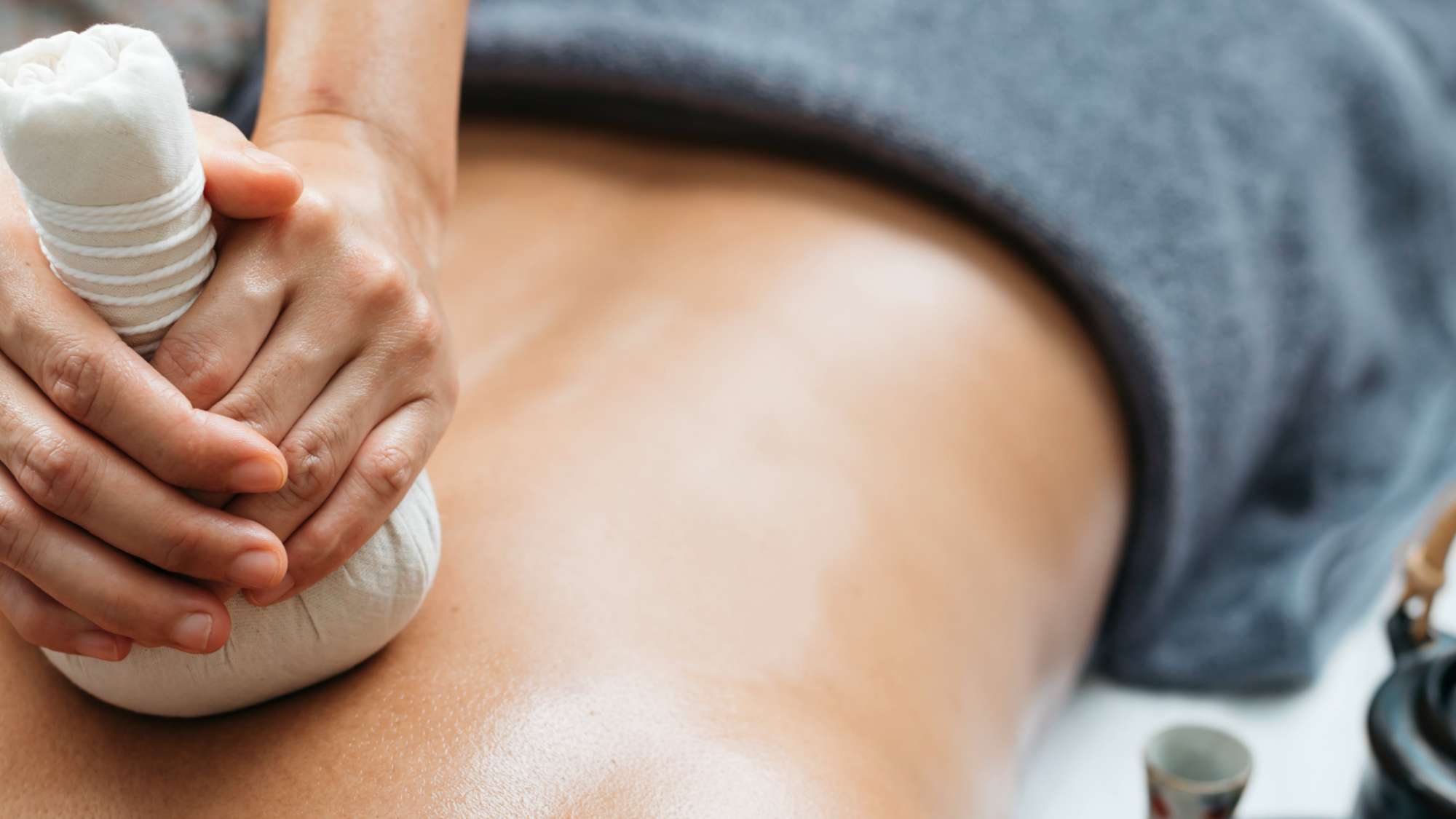 Représentation de la formation : Technicien spa et bien être Bloc 1 Module E-LEARNING Massage POCHONS