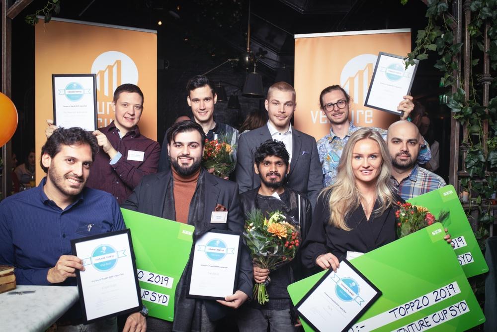 Årets vinnare i Venture Cup IDEA i region Syd