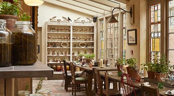 The Pig, Bridge Place, Canterbury, Kent, hotel, boutique hotel, gardens, restaurant, bar