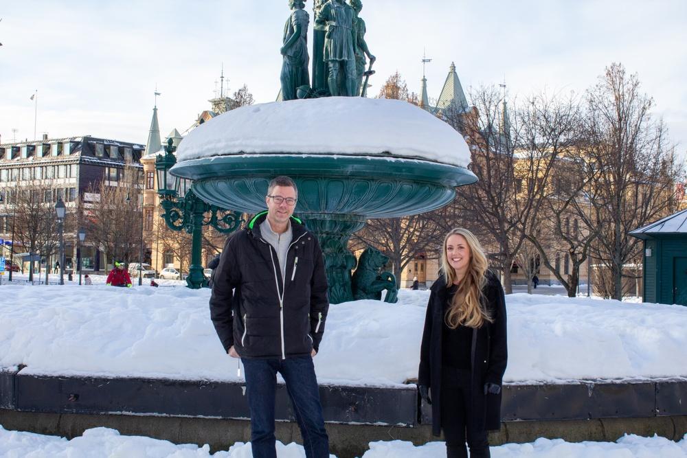 Lars Markström och Christel Jonsson