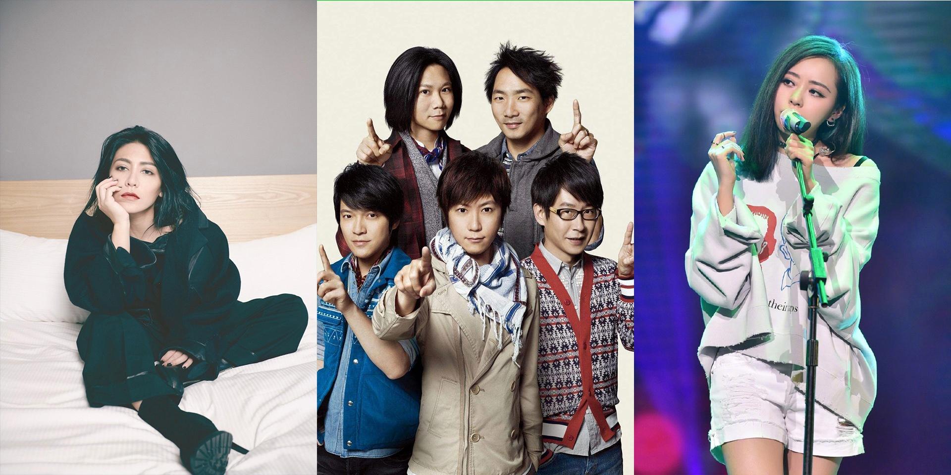 艾怡良、五月天、张靓颖:上两周哪些歌手发行了新歌