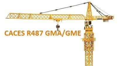Représentation de la formation : CACES® R487 Grues à tour (GMA/GME)