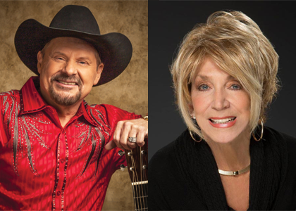 ODBD - Moe Bandy & Jeannie Seely - August 15, 2020, doors 6:45pm (LATE SHOW)