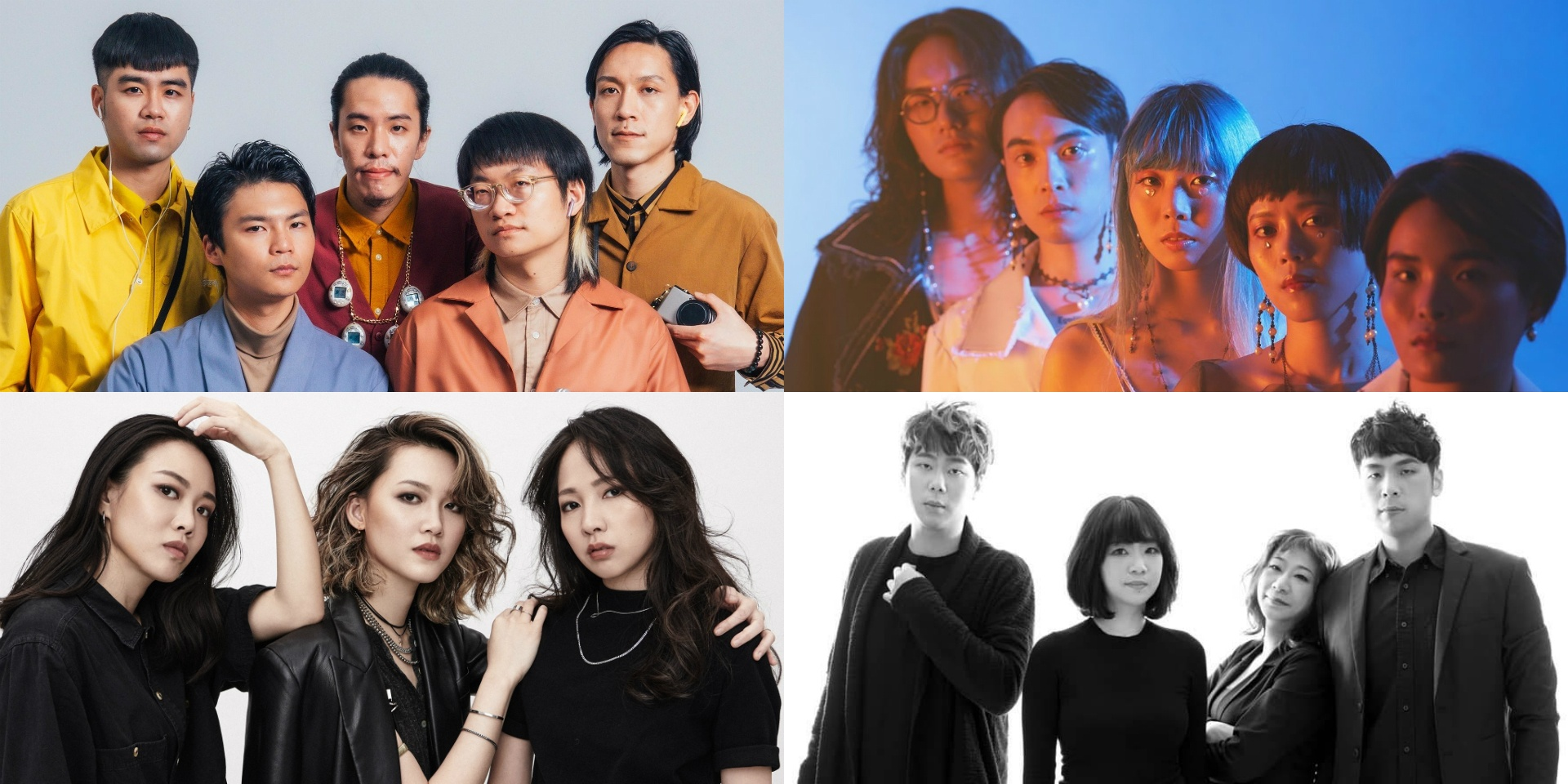 Sunset Rollercoaster, Jade Eyes, I Mean Us and Go Go Machine Orchestra to headline Taiwan's LUCFest