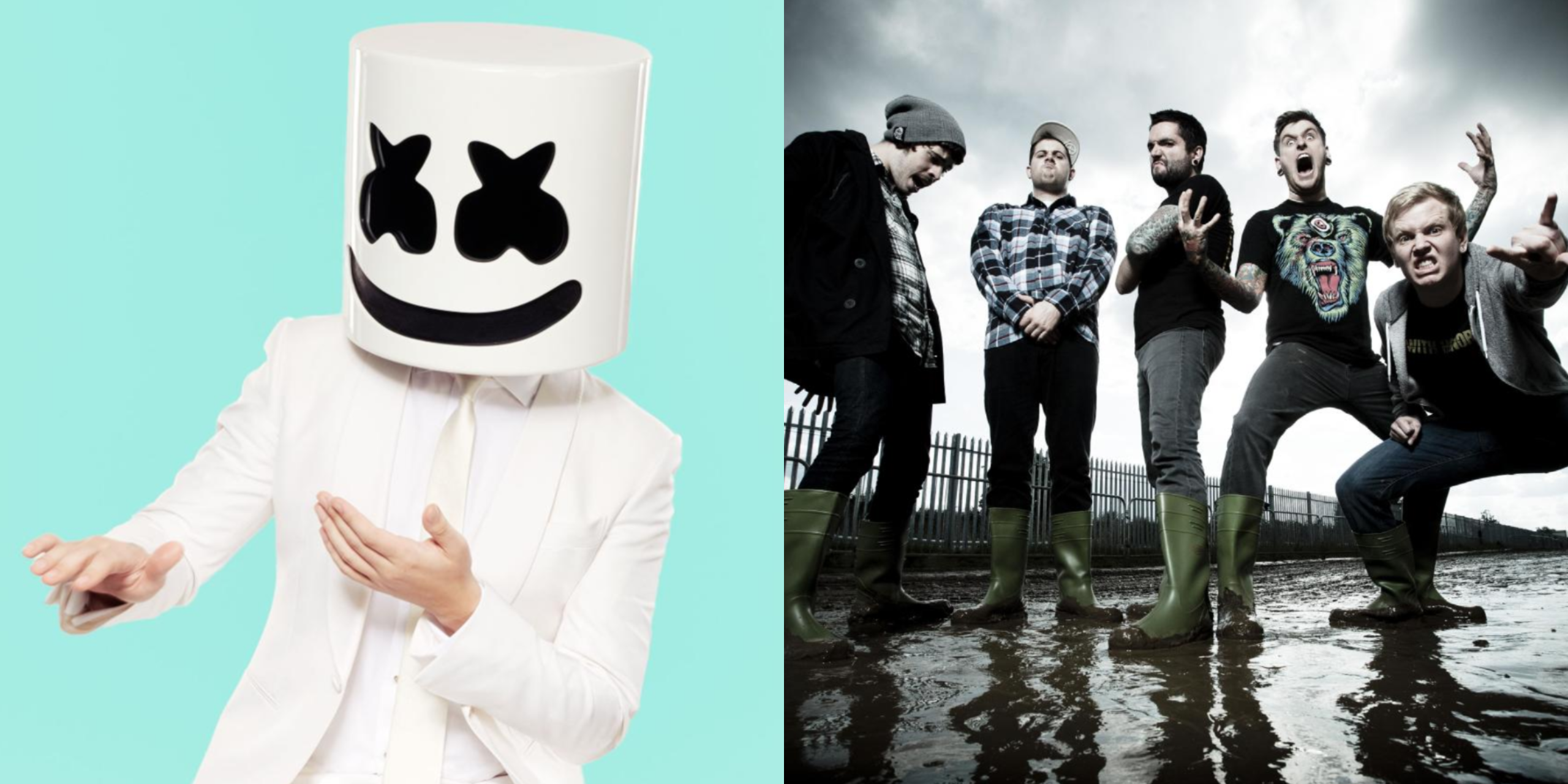 Marshmello and A Day To Remember release new single, 'Rescue Me' – listen