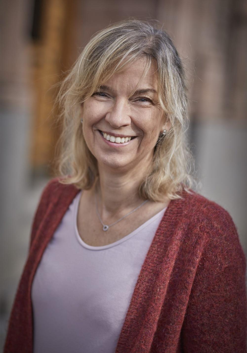 Författarporträtt: Anette Sievers