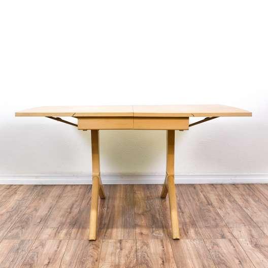 Mid Century Modern Drop Leaf Dining Table