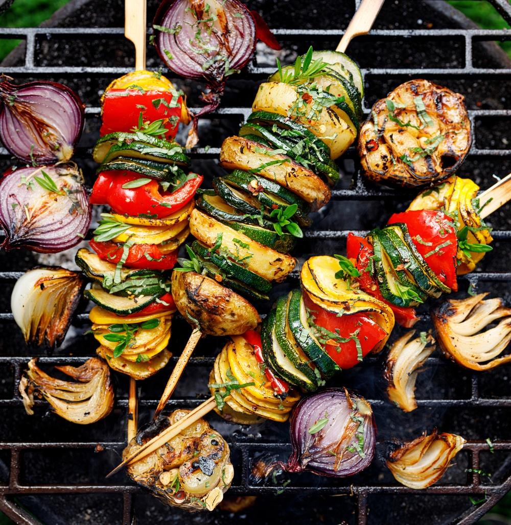 Pensla dina grönsaks spett med Vegonade!