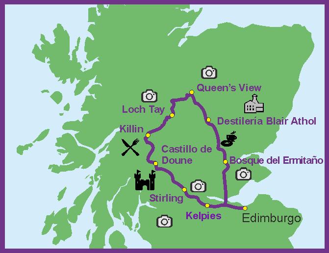 Actividades Turísticas en Edimburgo