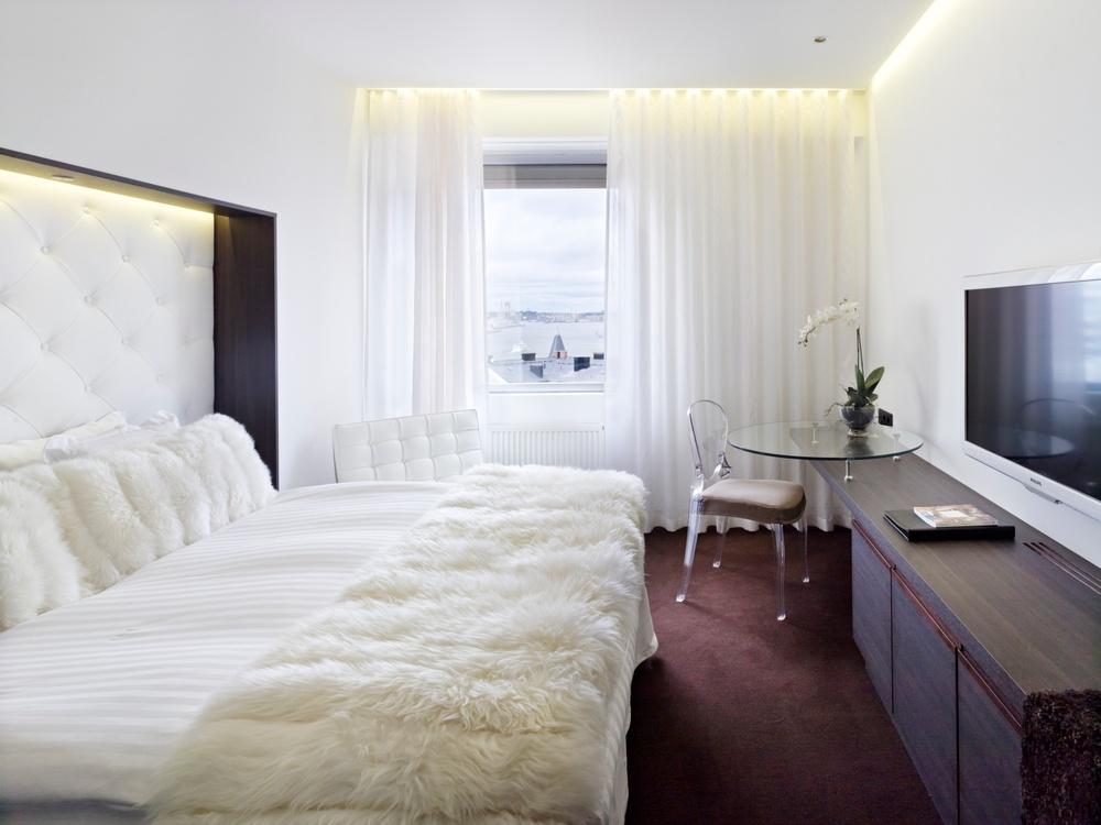 Premium Queen hotellrum på Hotel Riverton i Göteborg