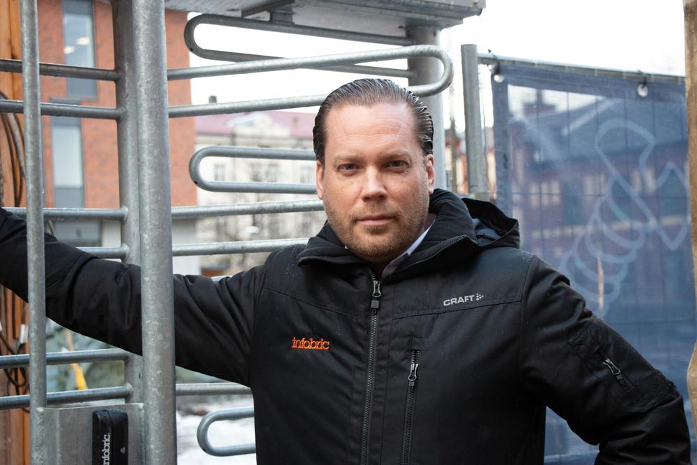 Dan Friberg, VD, Infobric