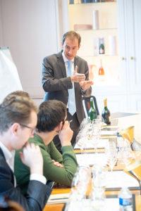 Damien Le Sueur, general director, Champagne Taittinger