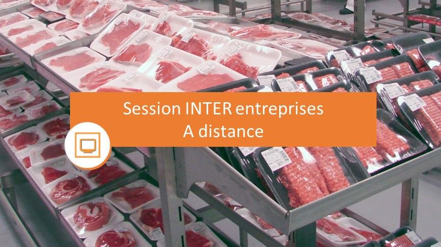 Représentation de la formation : Altérations précoces  des produits carnés conditionnés en portion unitaire (UVCI)