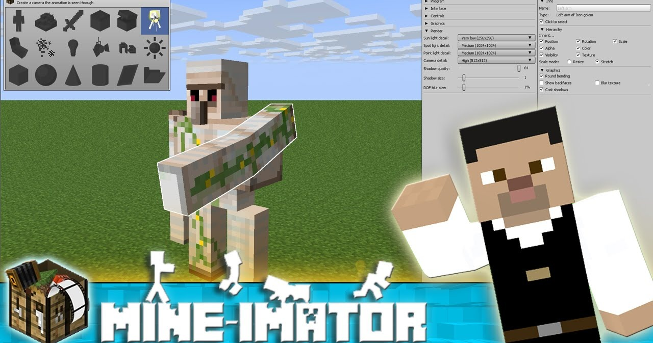 Stop Motion Animation With Minecraft Using Mine Imator 6 Reviews Completed By 16 Learners Create Animated Videos Using Blocks Items And The Lovable