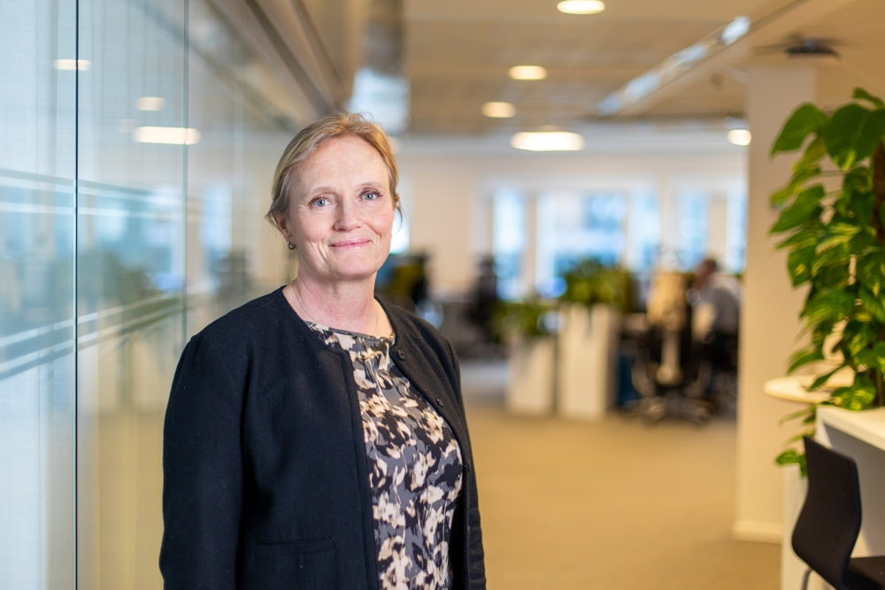Britta Burreau, vd och koncernchef Almi