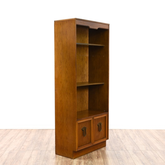Tall Cherry Bookcase Cabinet Loveseat Vintage Furniture