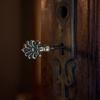 Front door key, Shaar Hashamayim (Adly St) Synagogue, Cairo, Egypt. Joshua Shamsi, 2017.