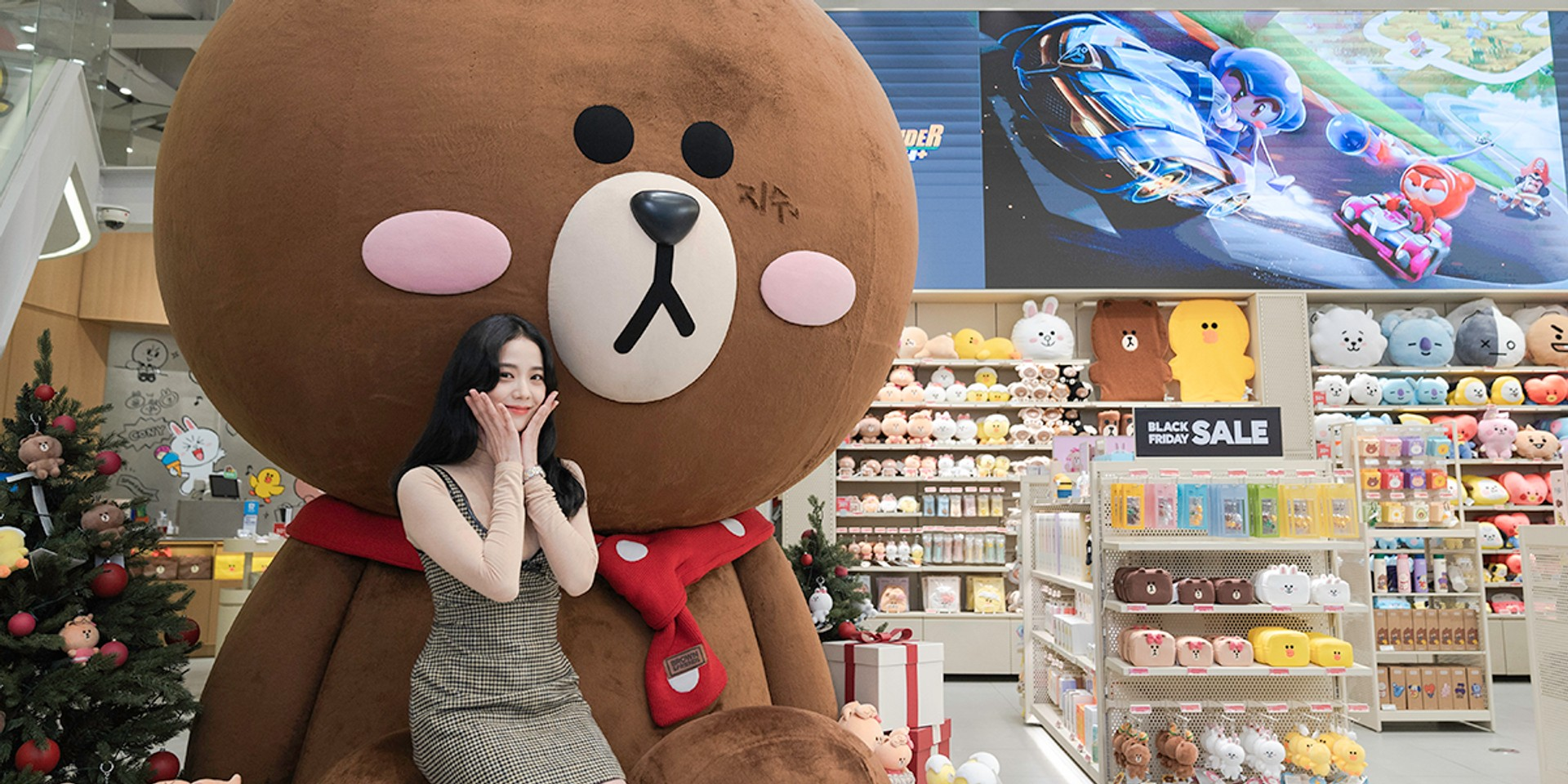 LINE FRIENDS launches new character, 'CHICHI' co-created by BLACKPINK's Jisoo on KartRider Rush+