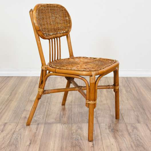 Tropical Woven Rattan Chair