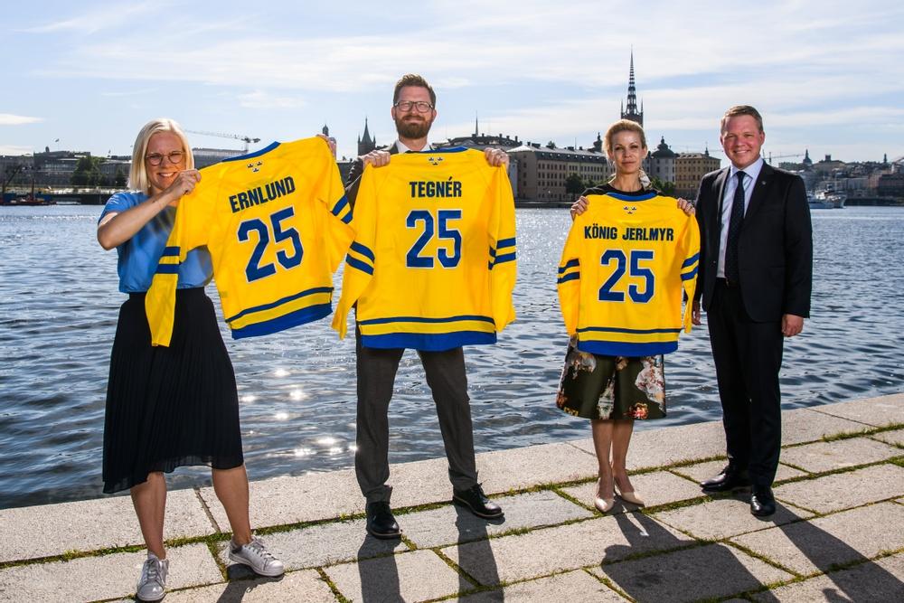 Ishockey 2025 Stockholm Avicii Arena