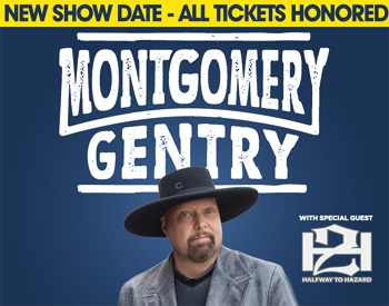 CVAH- Montgomery Gentry, June 9, 2018, gates 5:30pm