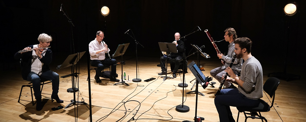 Contemporary Winds: Ensemble intercontemporain Live in Paris!