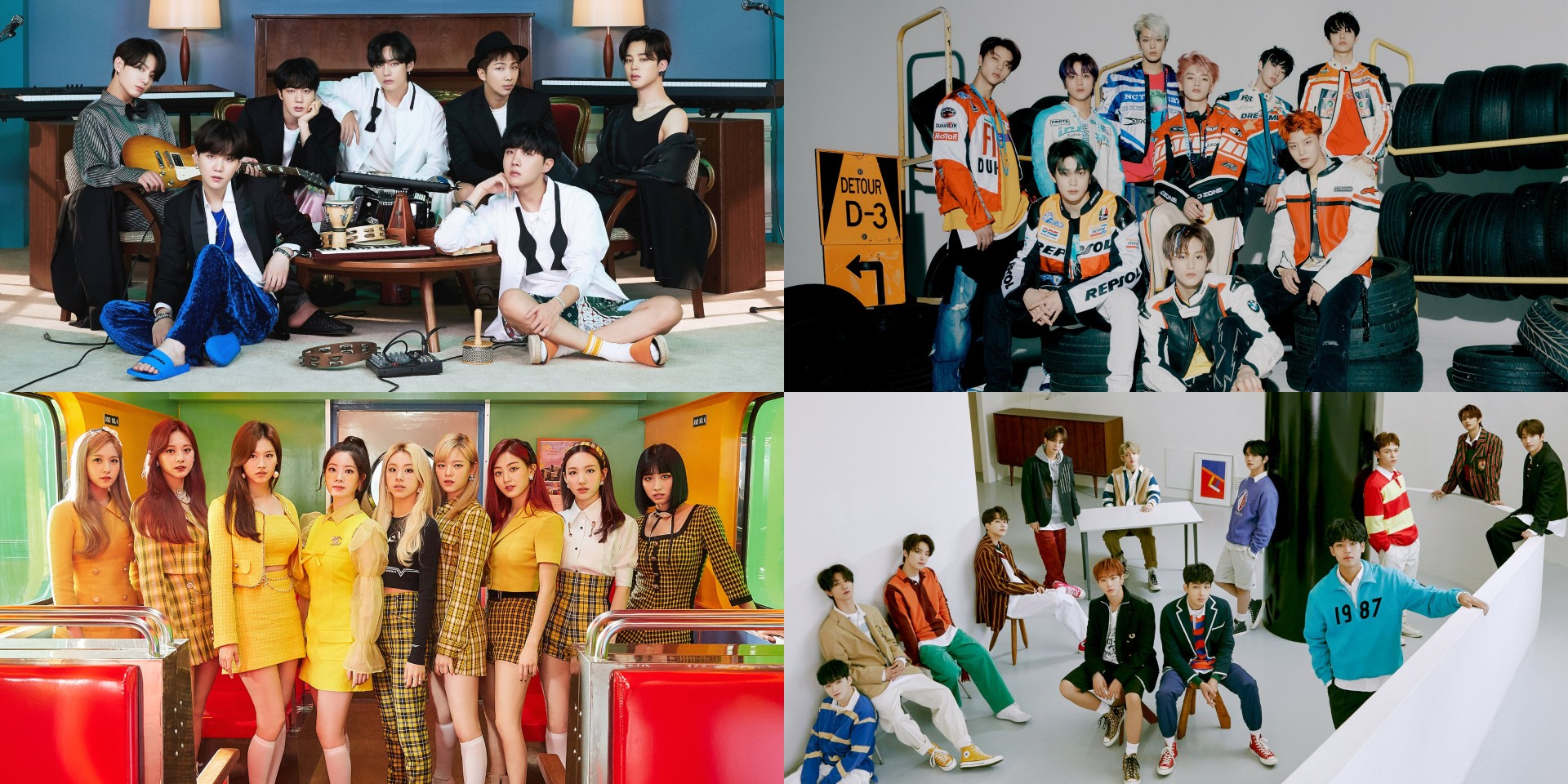 BTS, NCT 127, TWICE, SEVENTEEN, and more to perform at the 35th Golden