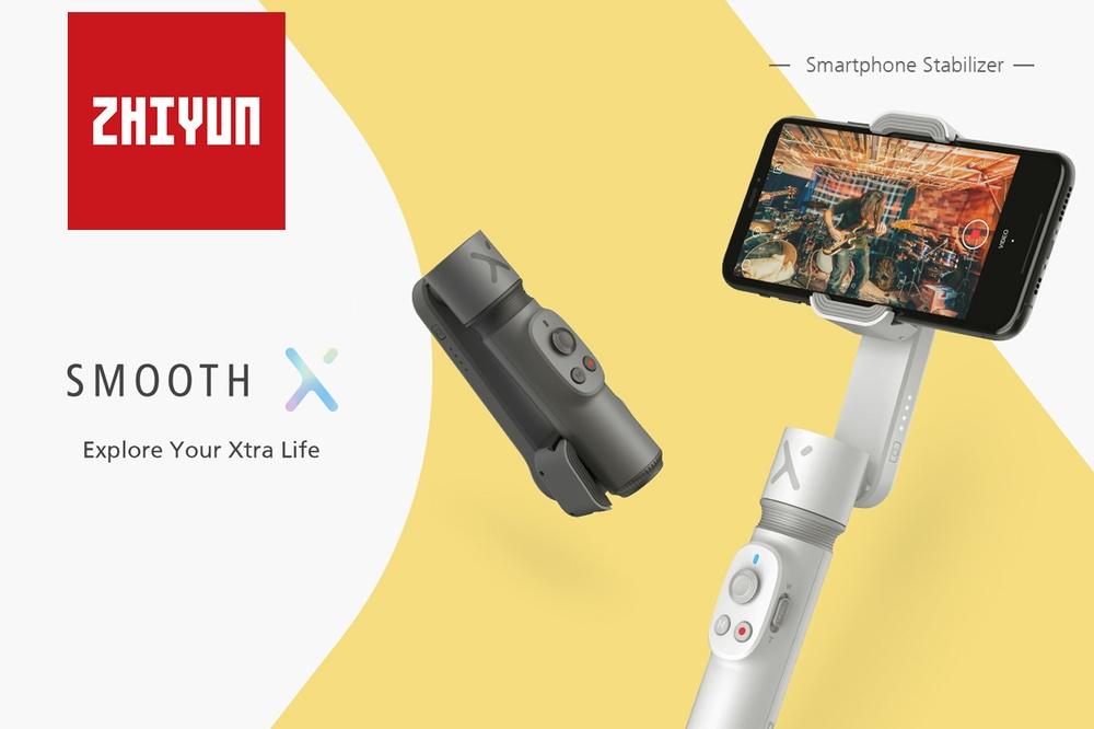 Skvělé videá z cest s novým Zhiyun Smooth-X