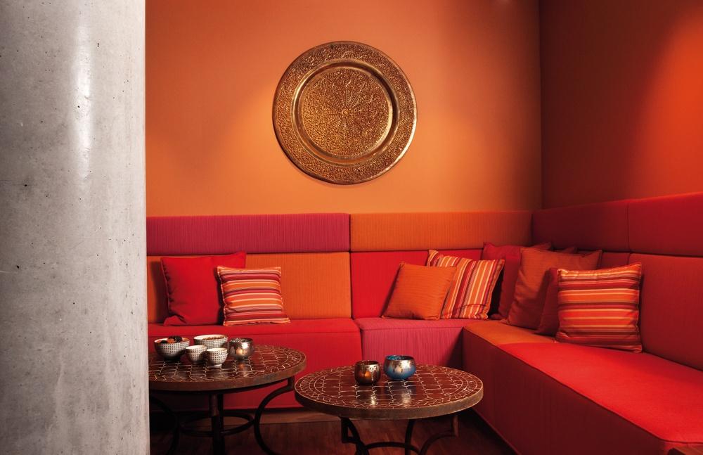 Lounge på Sturebadet Marina Tower