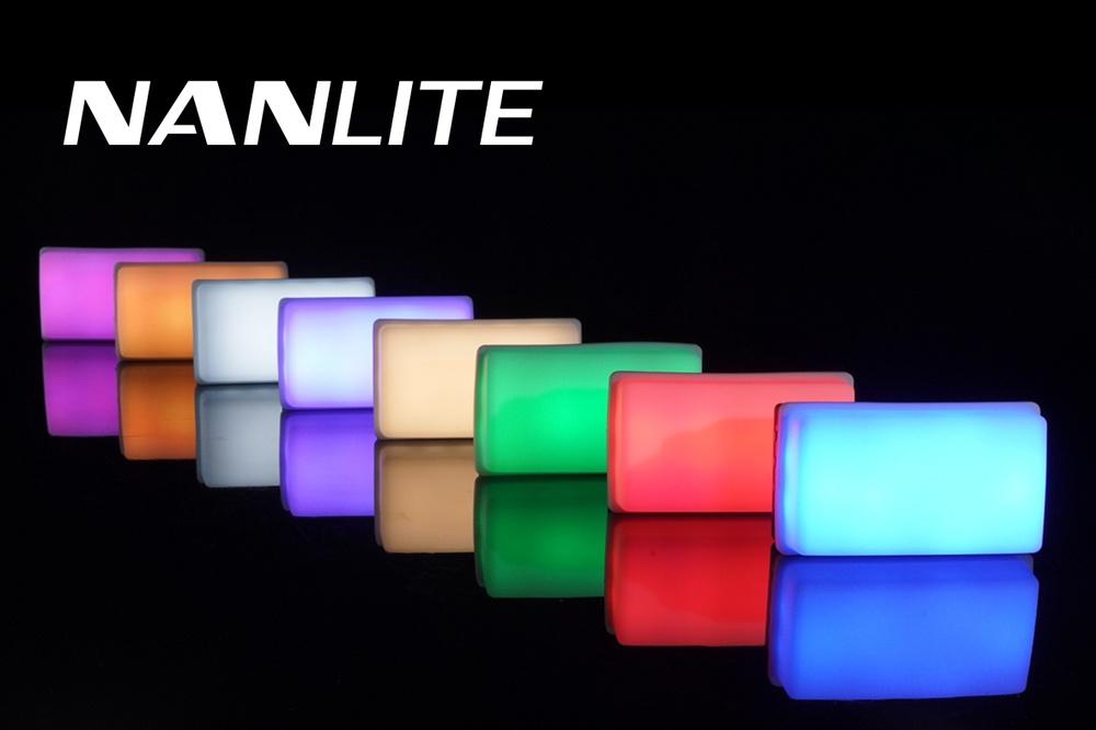 Kraftfull Led-belysning i miniformat från Nanlite