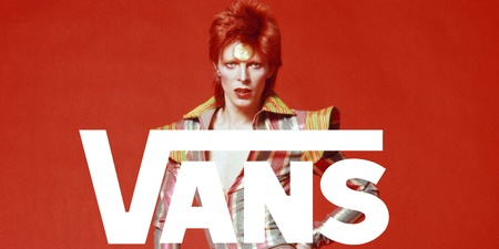 Vans to release limited edition David Bowie tribute shoe collection