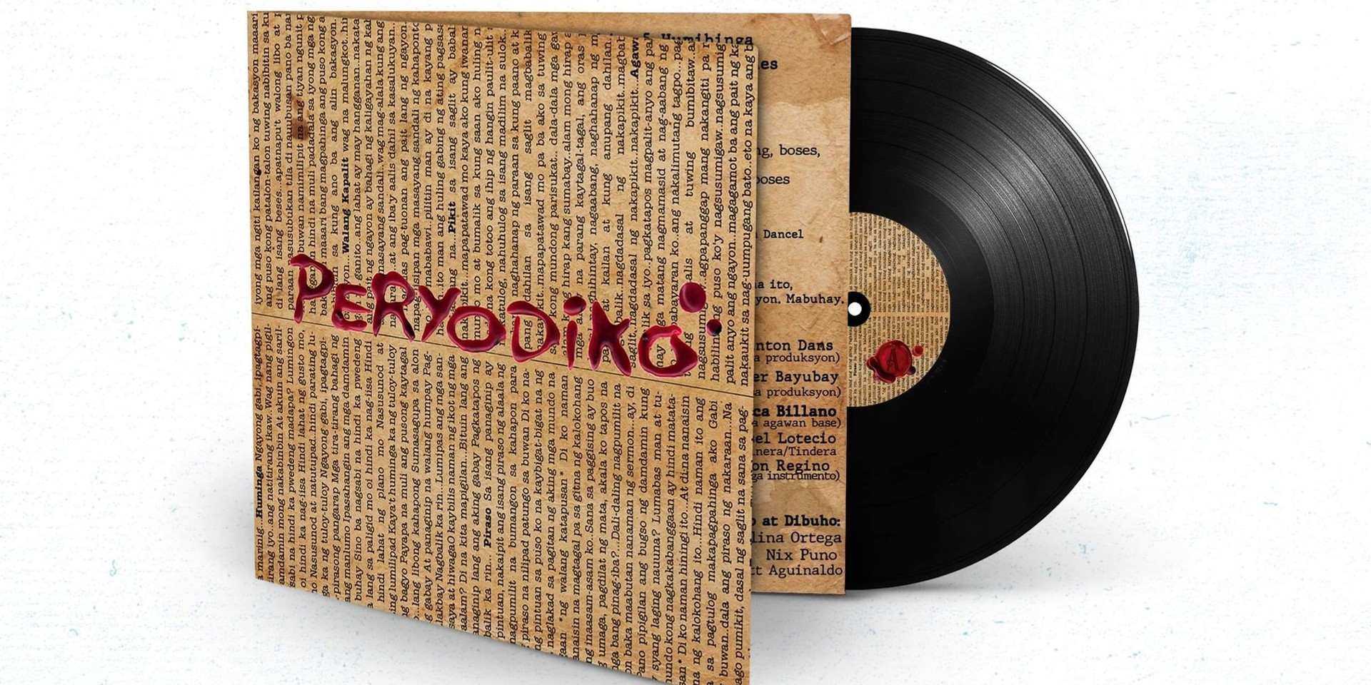 Peryodiko's self-titled debut album is dropping on vinyl for the first time